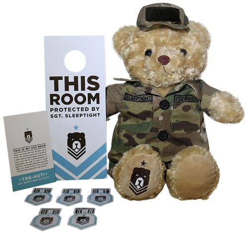 Multicam OCP Sgt. Sleeptight Bear