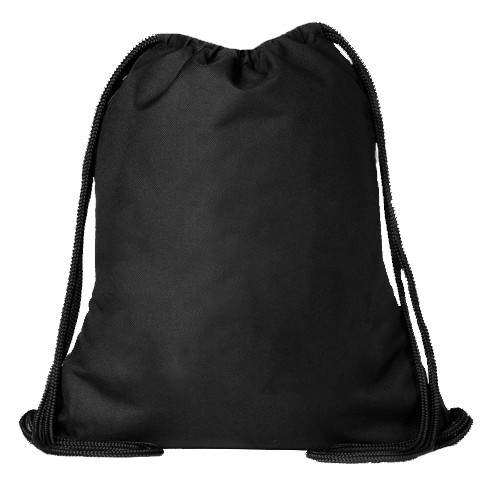 Black ELITE Drawstring Backpack