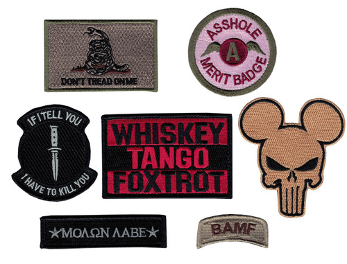 MLC Morale Patch Collection