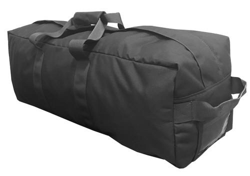 Black Enhanced Military Duffle Bag
