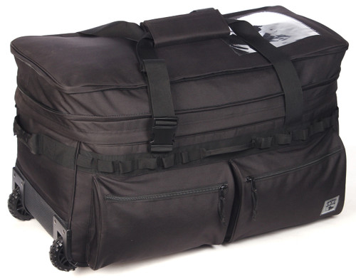 "Black Mission Essential 30"" Wheeled Duffle Bag"