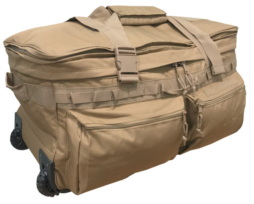 """Coyote Mission Essential 30"""" Wheeled Duffle Bag"""