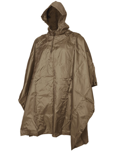 Coyote Ripstop Poncho