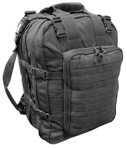 Black Mini Hospital Backpack