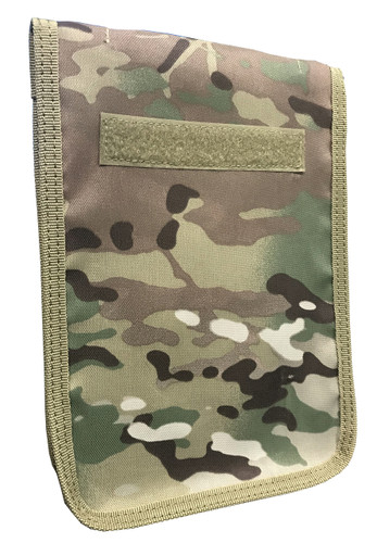 Multicam OCP Zippered 6 x 9 Top Spiral Notebook Cover (With 6 X 9 Notebook)