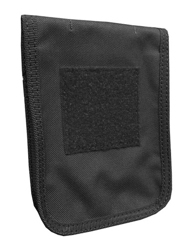 Black Zippered 4 x 6 Top Spiral Notebook Cover (With 4 X 6 Rite In The Rain Notebook)