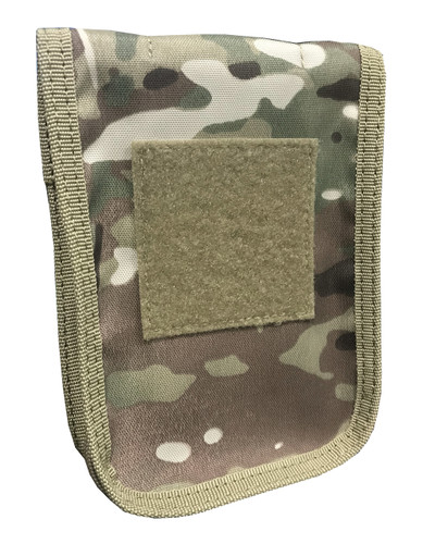 Multicam OCP Zippered Cover And 4 x 6 Top Spiral Notebook