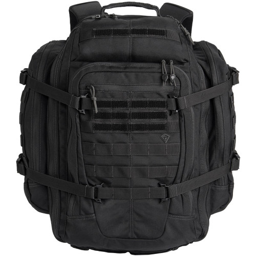 Black Specialist 3 Day Backpack by First Tactical