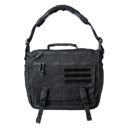 Black Summit Side Satchel by First Tactical