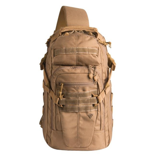 Coyote Crosshatch Sling Pack by First Tactical