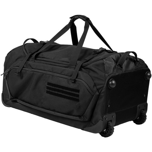 Black Specialist Rolling Duffle by First Tactical