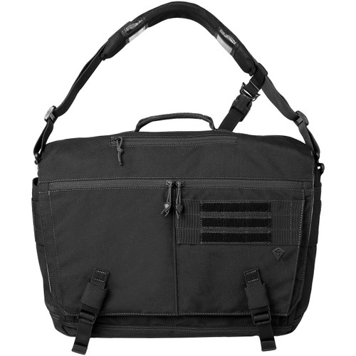 Black Ascend Messenger Bag by First Tactical