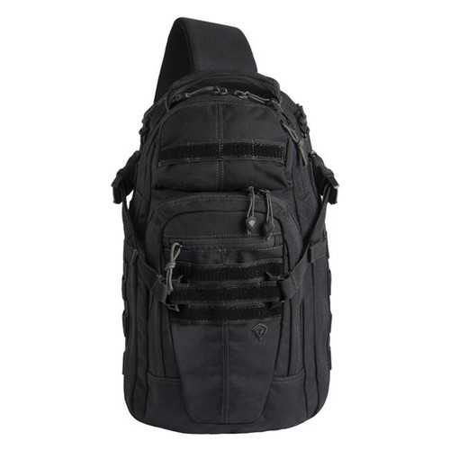 Black Crosshatch Sling Pack by First Tactical