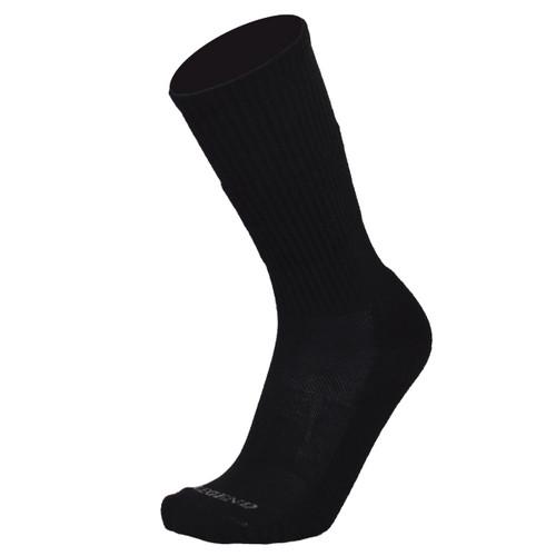 Black All Weather Compression Merino Wool Boot Socks