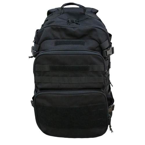 Black Multi Day Assault Backpack By Cougar Tactical
