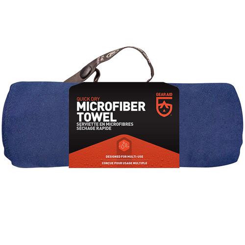 Navy Blue Large 30 x 50 Microfiber Towel