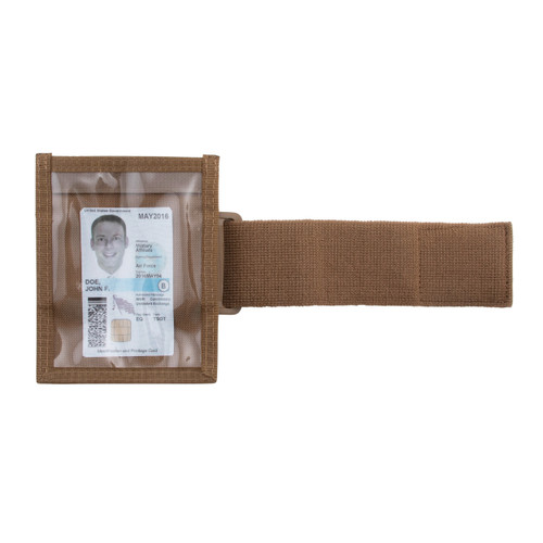 Coyote ID Armband With Elastic Strap