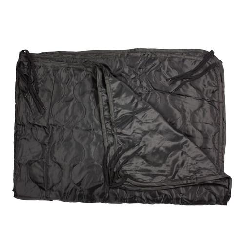 Black Poncho Liner