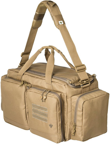 Coyote Recoil Range Bag by First Tactical
