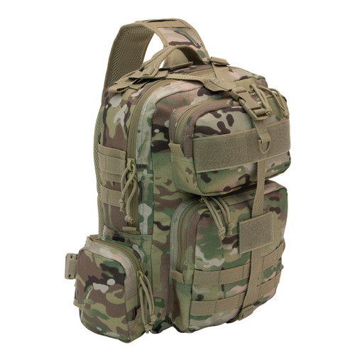 "Multicam OCP ""Beat Feet"" Tactical Conceal Carry Sling Bag"