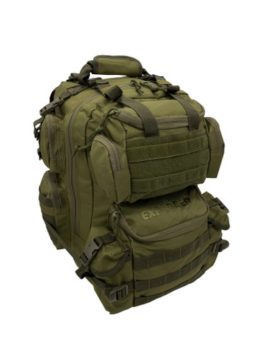"""Olive Drab 20"""" Tactical Backpack"""