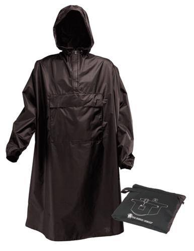 Black Sentinel Poncho