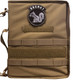 Coyote Secret Squirrel Tactical Military Padfolio