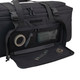 Black 37 Inch Rolling Deployment Bag With Retractable Handle