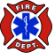 Fire Department And EMS Logo