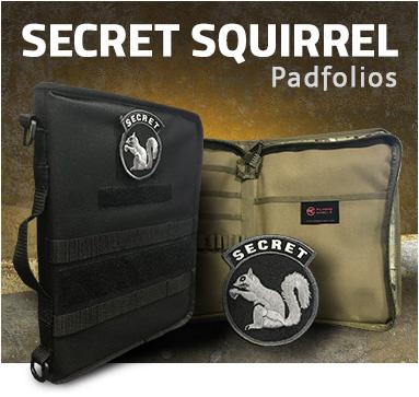 Secret Squirrel Padfolios