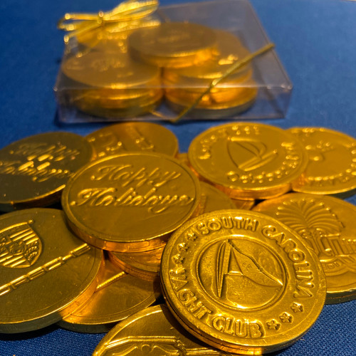 Chocolate Foil Coins with logo (180 Count)