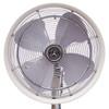 front view of fan