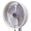 front angle view of fan
