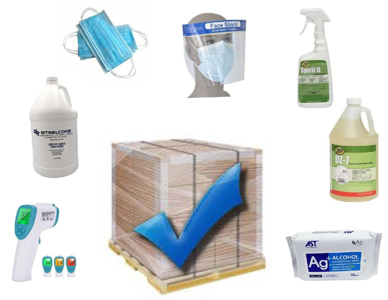 PPE Kits - 250 Person, 30 Day Supply