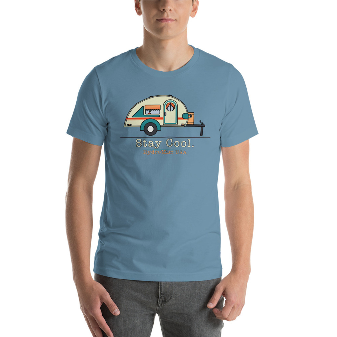 Stay Cool Camper Short-Sleeve T-Shirt