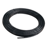 "3/8"" high-pressure black nylon tubing"