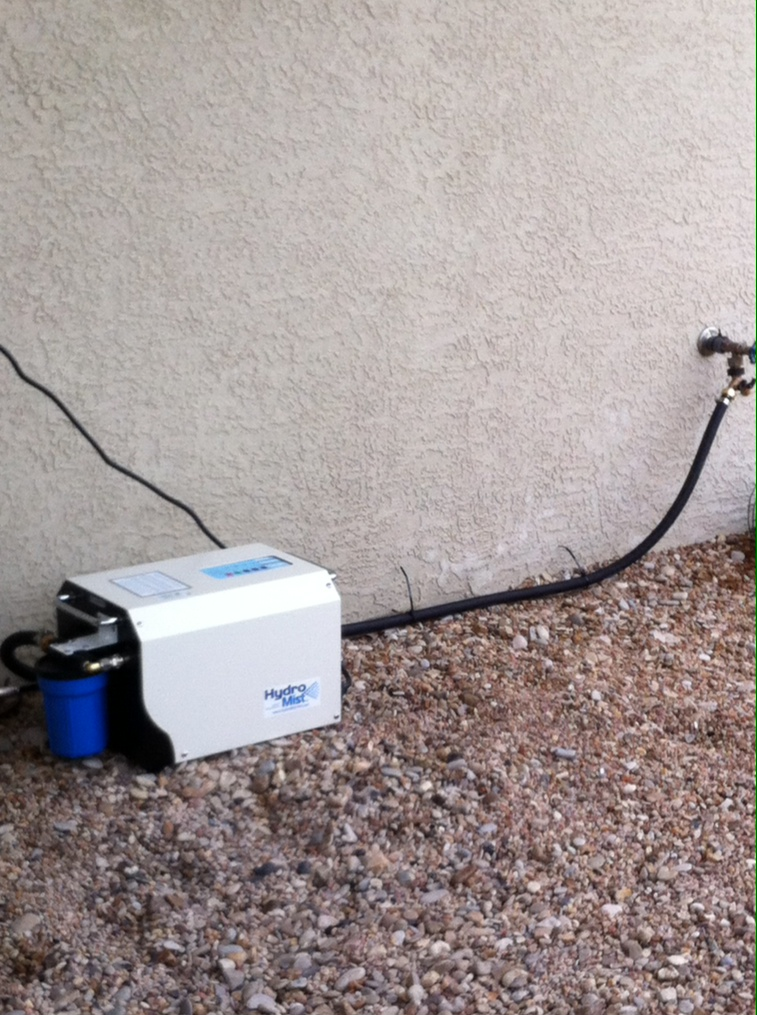Easy installation to any outdoor water spigot.