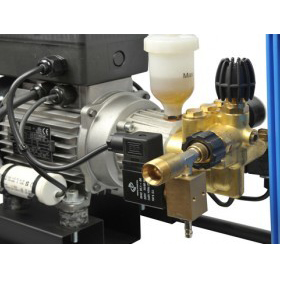 1 HP pump allows up to 80 Nozzle capacity.  9 Amps