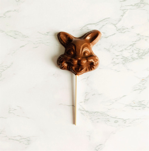 Milk Chocolate Bunny Sucker