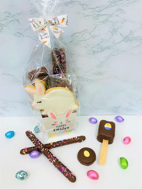 Milk Chocolate Mini Easter Baskets
