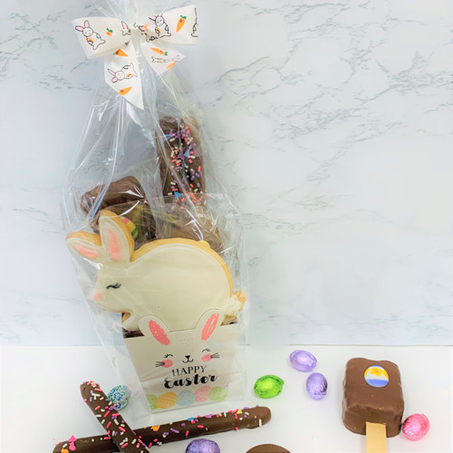 Milk Chocolate Mini Easter Baskets