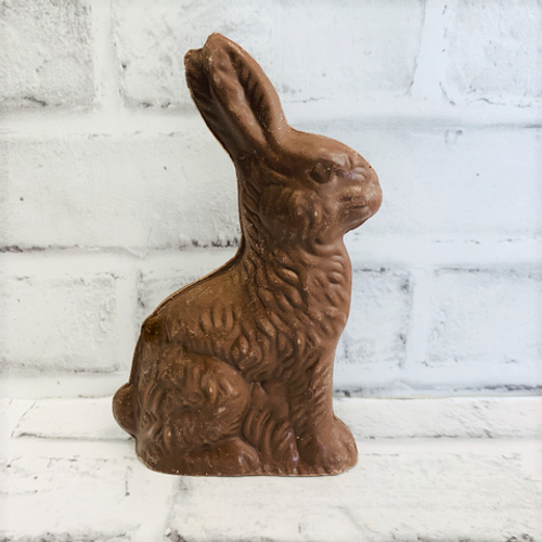 Milk Chocolate Medium Sitting Rabbit