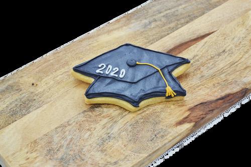 Graduation Shortbread Cookie