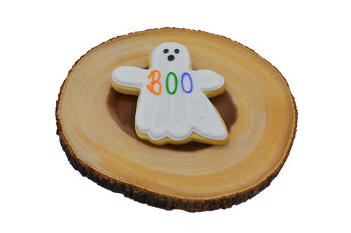 Halloween Ghost Shortbread Cookie