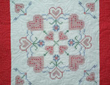 A Quilt from Pam Owen's Studio - Stamped Embroidery Quilt