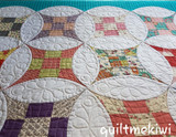A Quilt From Quilt Me Kiwi Studio - Curved Nine Patch