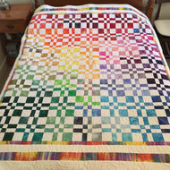 A Quilt From Our Studio - Elly's Disappearing Four Patch (Missouri Star)