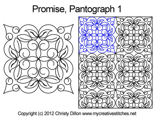 Promise quilting pantographs 1 patterns