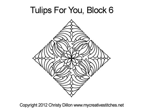 Tulips For You Block 6