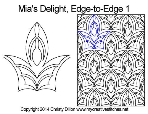 Mia's Delight Edge-to-Edge 1